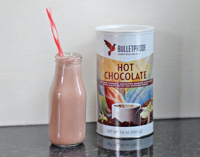 Bulletproof hot chocolate cherry smoothie