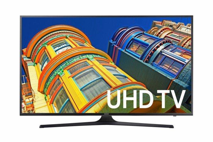 Samsung 4K UHD television at Walmart