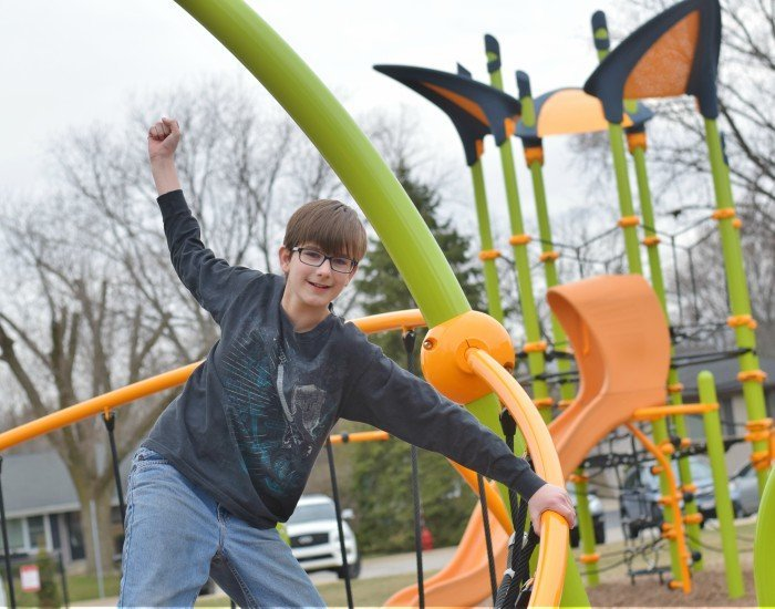 Creative playgrounds feel much bigger