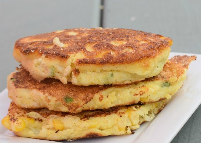 Easy and delicious homemade corn fritters