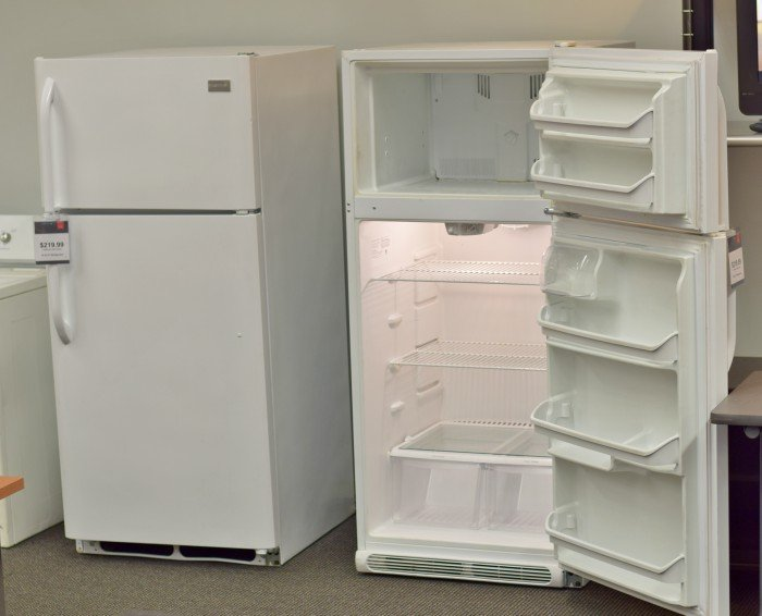 Don't forget to add a fridge to furnish your dream basement