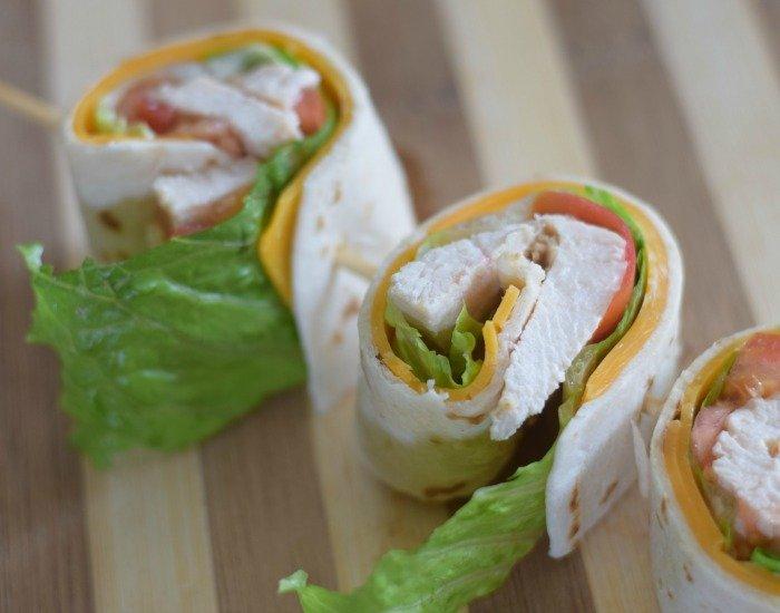Chicken Taco Wrap
