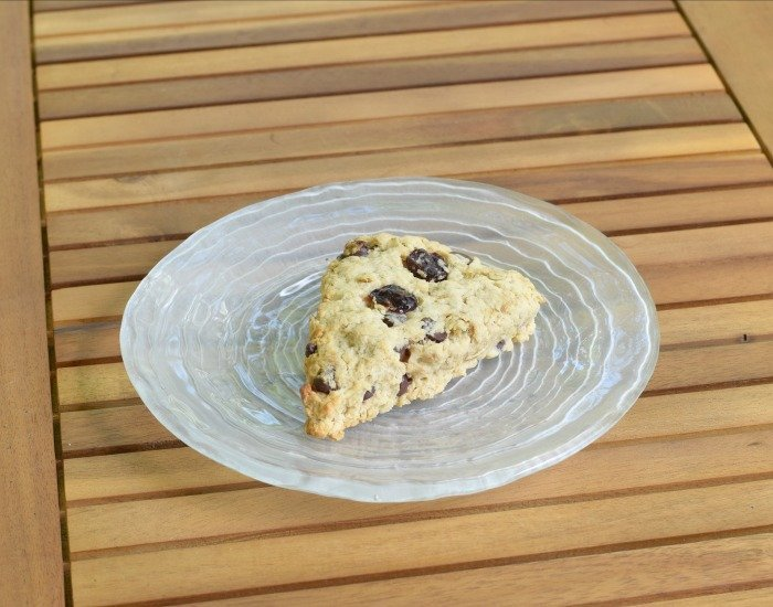 Enjoy a delicious breakfast scone