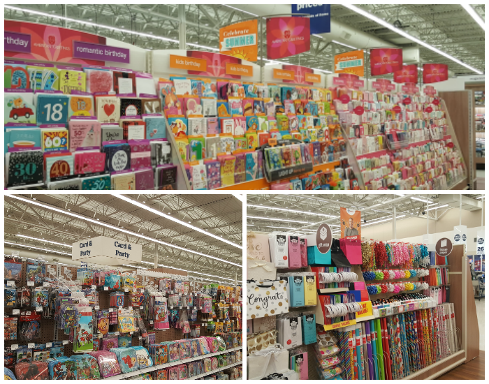 American Greetings products at Meijer