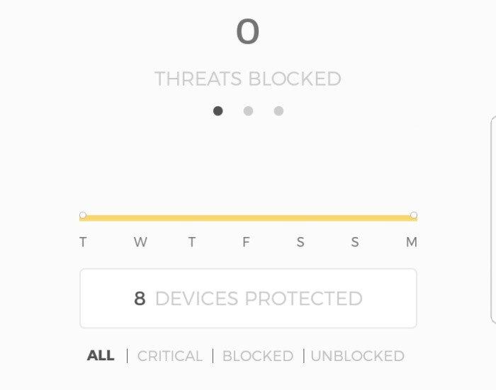 CUJO Threat blocking