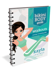 review of Kayla Itsines Week 1