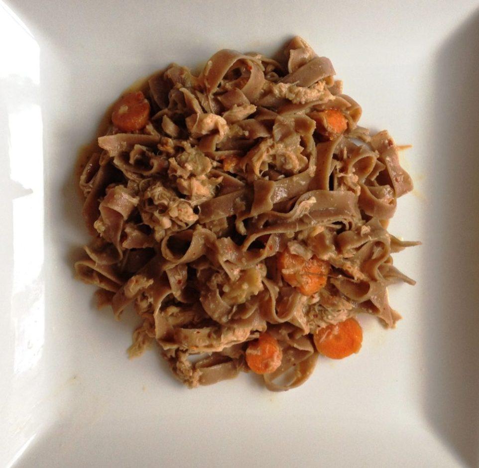 Bisogno Pasta: Gluten-Free & Vegan with thai chicken