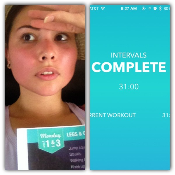 Kayla Itsines Round 2 - Week 1