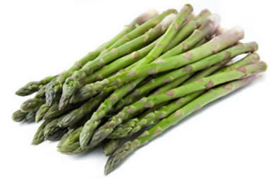 asparagus is a healthy food and has a lot of fiber