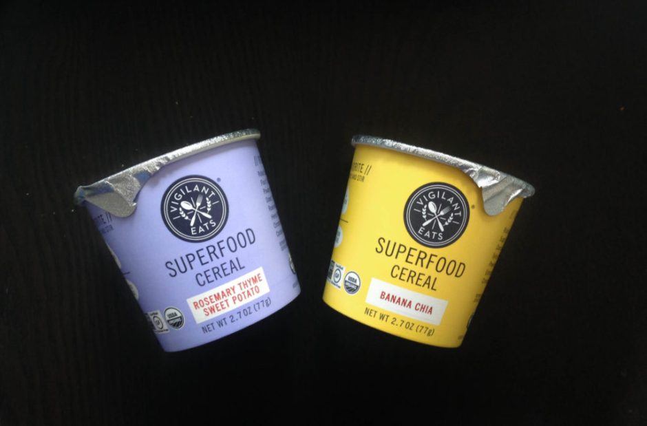 Superfood cereal from Vigilant Eats