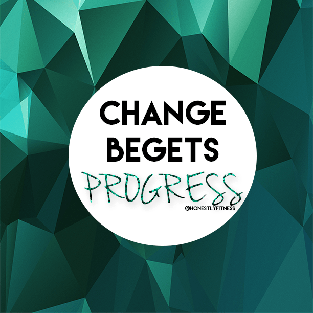 change begets progress with the skinny bitch collective