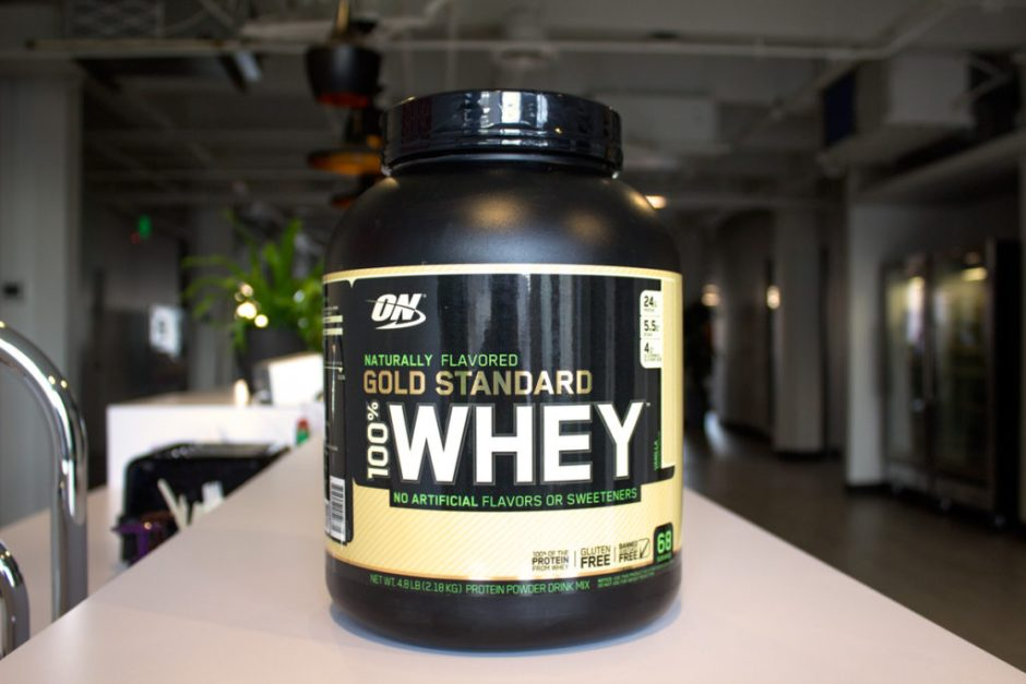 these are the three best protein powders optimum nutrition