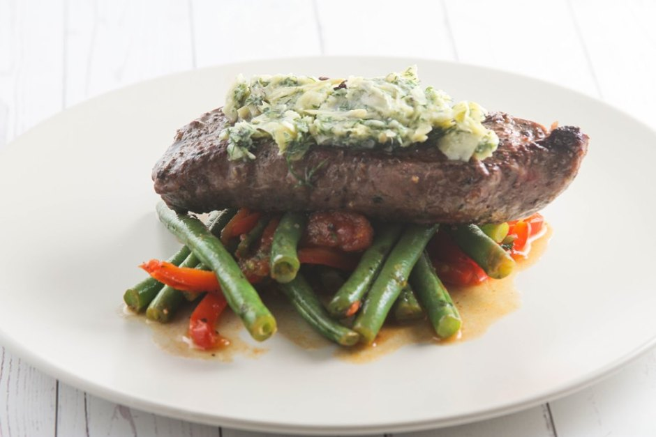steak and artichoke butter healthy dinners