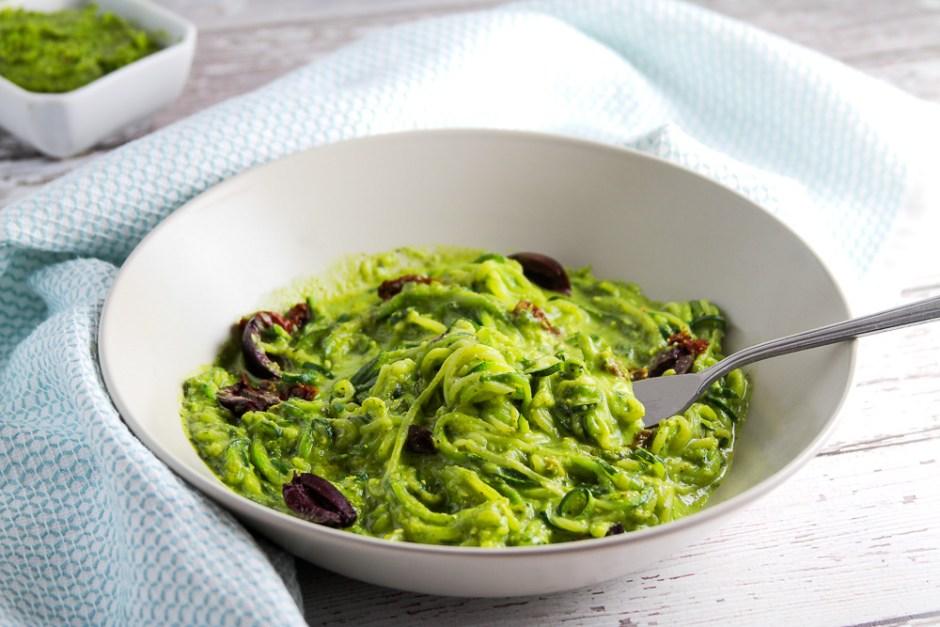 pistachio_pesto_with_cannellini_bean_zucchini_pasta