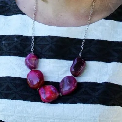 The Hamburglar | DIY Statement Necklace