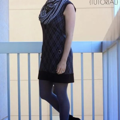 Simple Knit DIY Infinity Scarf ~ Tutorial