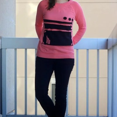 When 1 + 1 = 3 | No More Maternity Sweatshirt Refashion