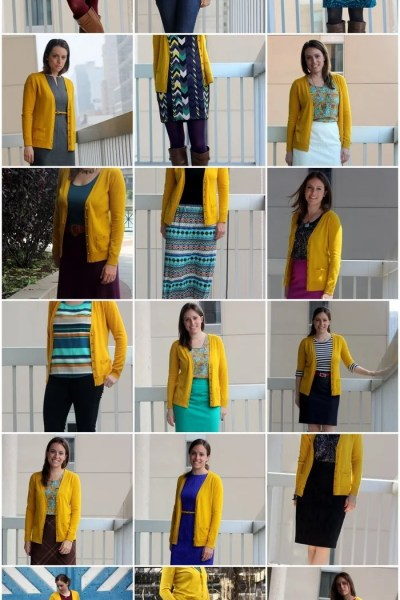 FashionablyEmployed.com | 18 Ways to Remix A Bright Colored Cardigan | Get the most out of your closet by maximizing fun, colorful pieces to complement all sorts of staples and statement pieces you already own!