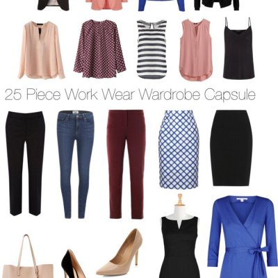 25 Piece Work Wear Wardrobe Capsule