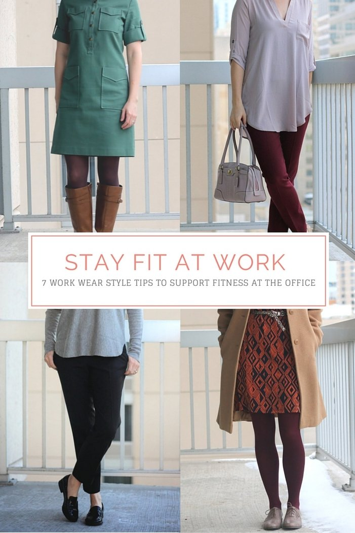 FashionablyEmployed.com | Stay Fit at Work: 7 Work Wear Style Tips to Support Fitness at the Office