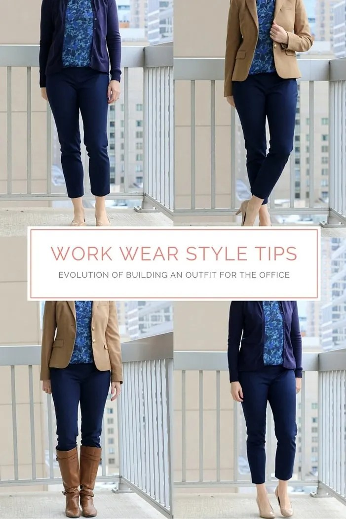 FashionablyEmployed.com | What does your morning style session look like? How does an outfit evolve as you get dressed each day? Click through for insights and ideas about how to streamline your morning style routine and ensure you've got an outfit perfect for the day!