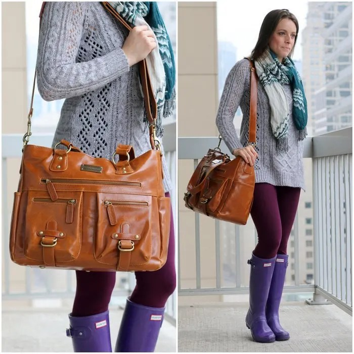 FashionablyEmployed.com | Real life travel style for moms, including this perfect bag for photo-loving moms | casual style, travel style for moms