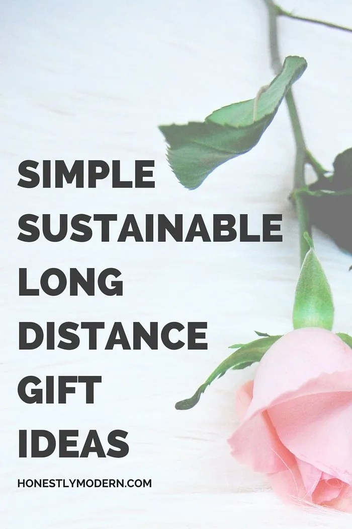 Looking for the perfect gift to send that's NOT fresh flowers? Check out this list of simple and sustainable gift ideas perfect for girlfriends, moms on Mother's Day, or any special occasion for someone you love but who may not live nearby. Click through for lots of great ideas!