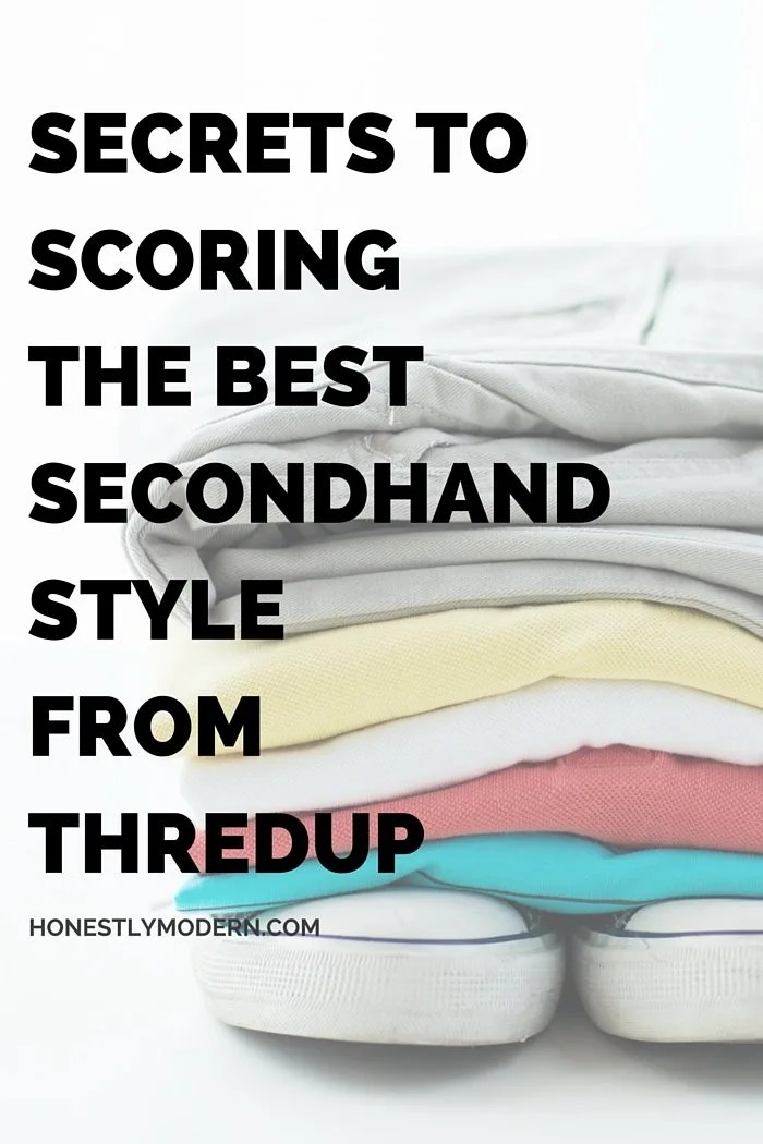 Want to know the secrets to the easiest and most efficient shopping that's both good for your bank account and the environment? Click through to find tips on simple and streamlined secondhand shopping. You might be surprised just how great it is!