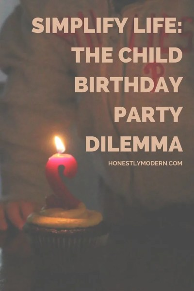 Torn about how elaborately to celebrate your little one's birthday? Click through for a case about why it's better, though not always easy, to keep it simple.