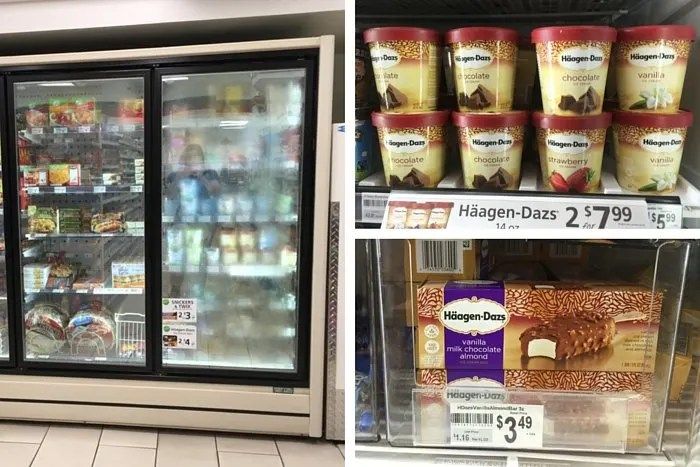 Häagen-Dazs in-store photos