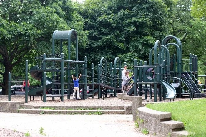 Lincoln Park Chicago playground