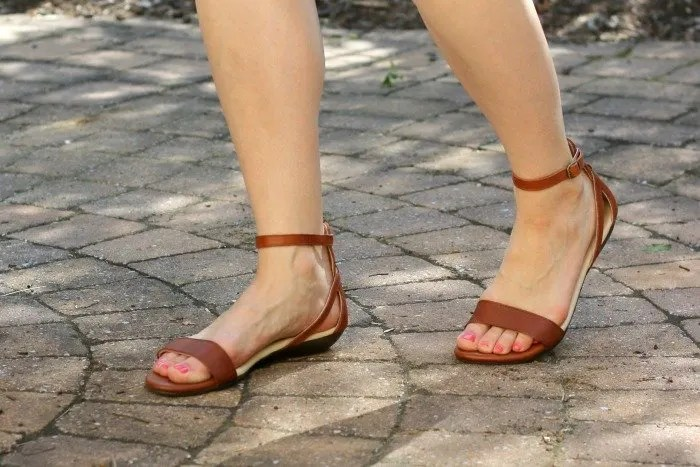 Ethically made sandals and dress for a perfect summer style you can feel great about wearing. Get yours now!