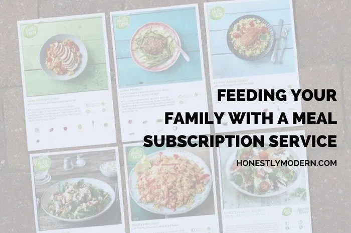 Feeding Your Family with a Meal Subscription Service - Hello Fresh social