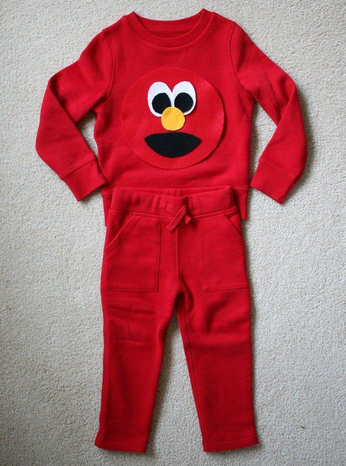 elmo-diy-halloween-costume-no-sewing-machine-eco- & Sustainable Halloween: 2 Easy DIYs for (Almost) Zero Waste Costumes