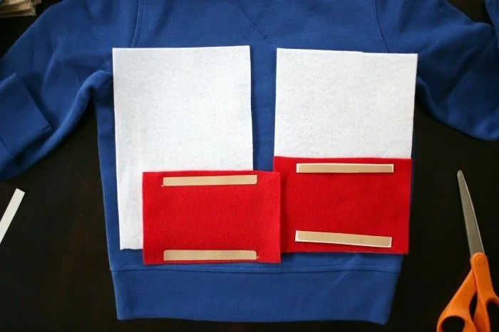 fabric-tape-holding-together-layers-for-captain-american-simple-diy-halloween-costume