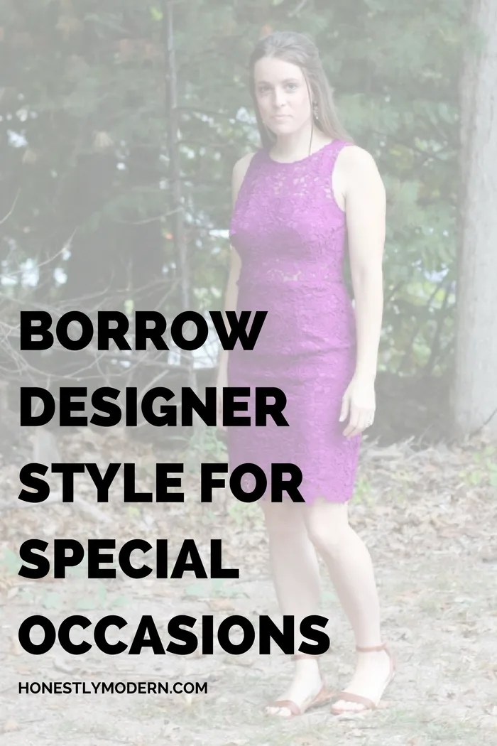Designer Style at an Affordable Price: Rent the Dress
