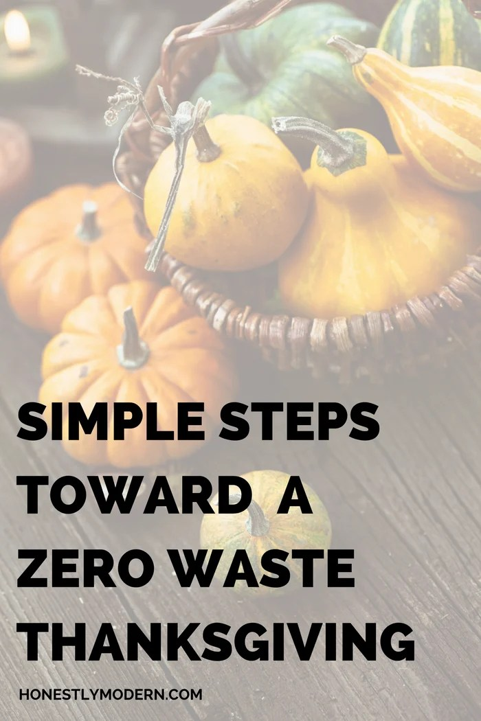 Celebrate Thanksgiving with these easy steps toward a more sustainable, zero waste holiday celebration. Check them out now!