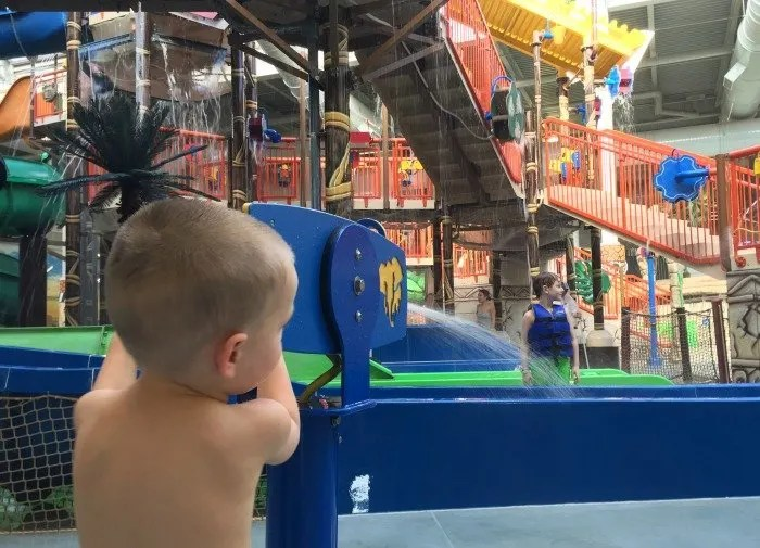 Check out a perfect easy and affordable mid-winter getaway at the Kalahari Resorts indoor waterpark.