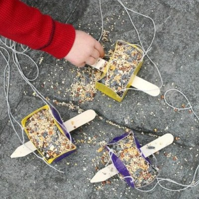 How To Make A DIY Upcycled Bird Feeder With Kids