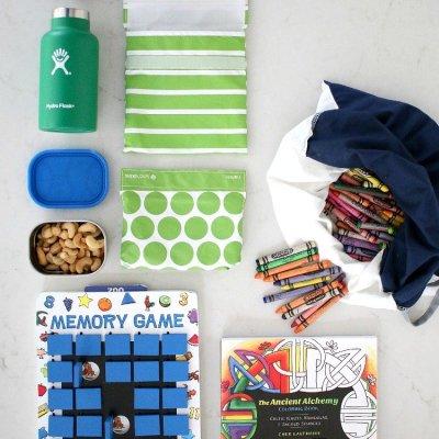 Easy Zero Waste Alternatives for Happier Travel with Children