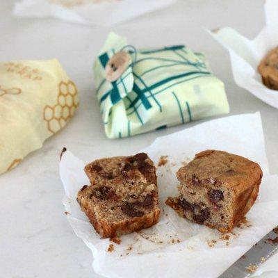 Bee's Wrap Up Mini Chocolate Chip Banana Bread Loaves