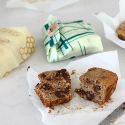 Bee's Wrap Up Mini Chocolate Chip Banana Bread Loaves