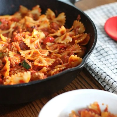 Simply Relish | Using Up Veggies In A Pasta Dish