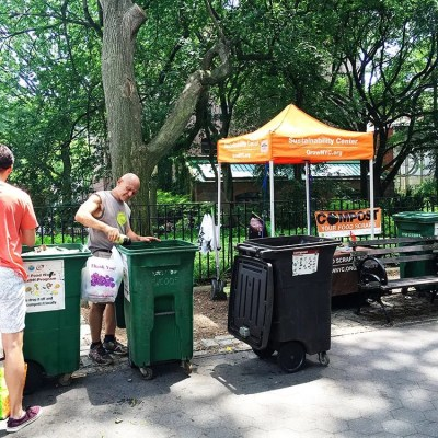 You Can Make Dirt | Compost Drop Off At Your Local Market