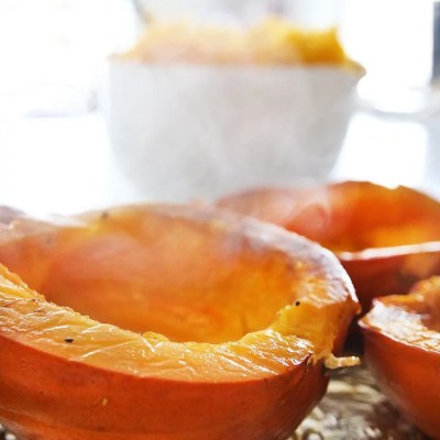 How To Bake a Whole Pumpkin