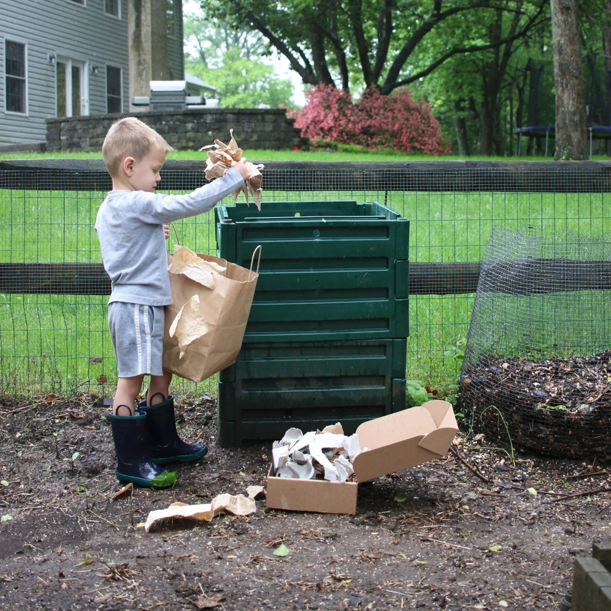 Composting offers so many benefits, and some are less obvious than others. Read on for some great lessons kids (and parents...let's be honest) can learn from composting.