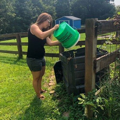 How To Compost At Home   Baby Food Scraps Start A Compost Bin