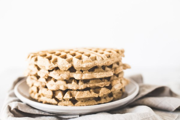 The Best Grain-Free, Cashew Butter Waffles Ever (paleo + dairy free + sugar free)