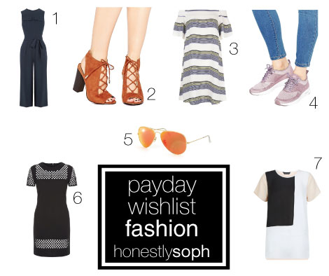 Payday Wishlist Fashion - March