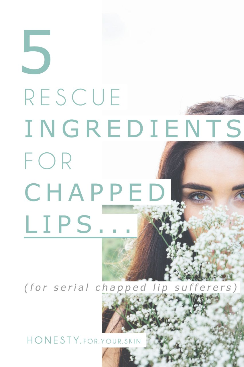 Chapped lips are pesky 'eh! Even if we have never suffered from dry skin or had to use dry skincare you can still be a serial chapped lip sufferer. So what should you look for to help chase away those chapped lips? Here are 5 awesome chapped lip rescue ingredients that will help you 'lay to peace' your chapped lip suffering [+ product recommendations with these lip partners in!] ... http://wp.me/p6LuQS-Am